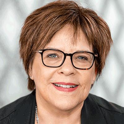 Christiane Auray, réceptionniste