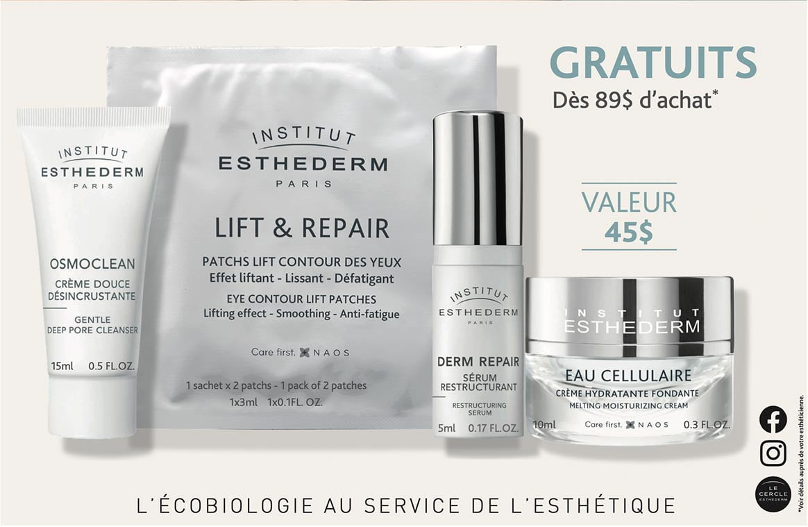 Promo Esthederm avril 2021