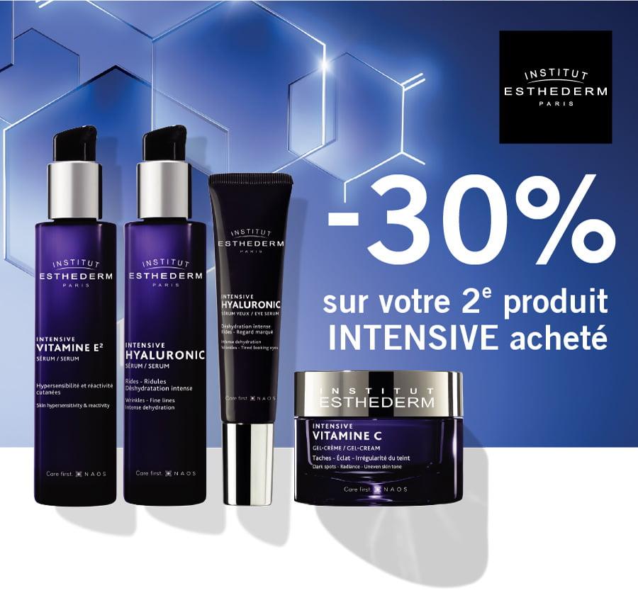 -30% sur votre 2e produit INTENSIVE acheté